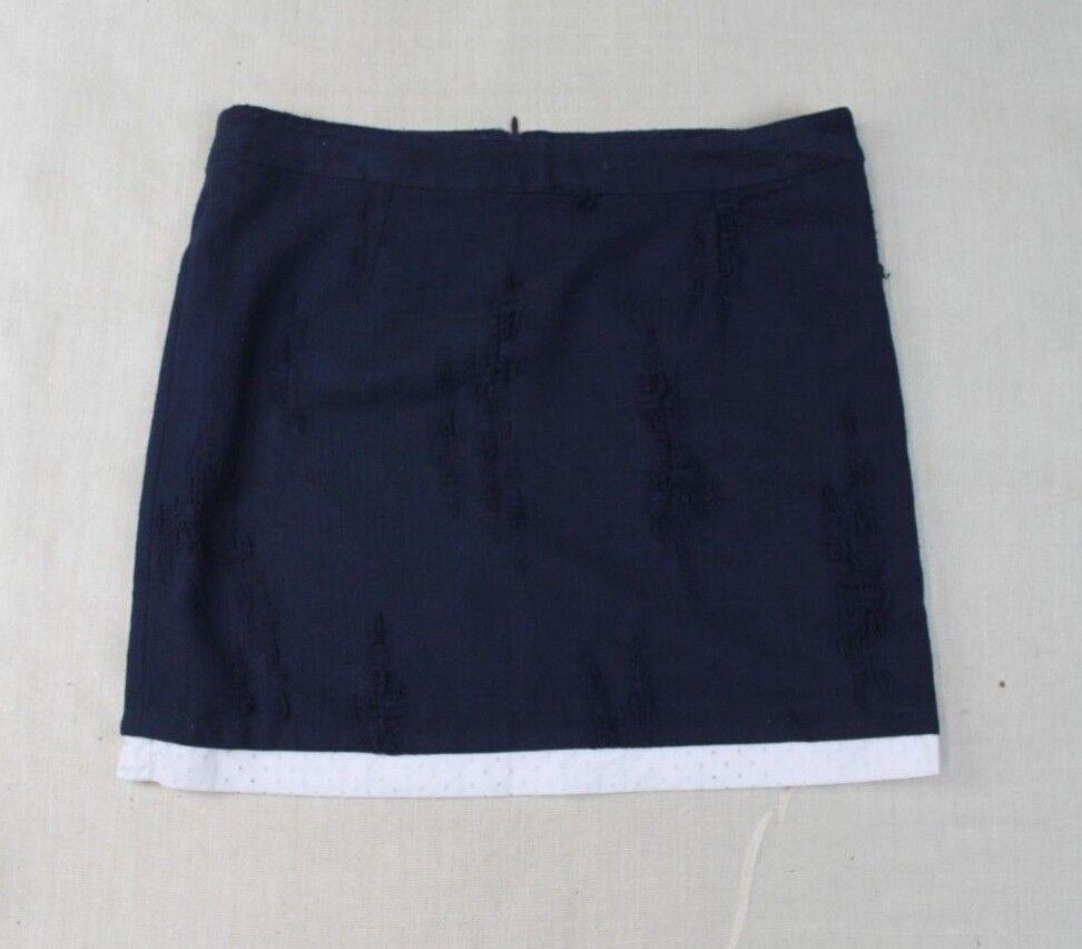 Sea NEW YORK  Womens Size S Skirt bluee H3