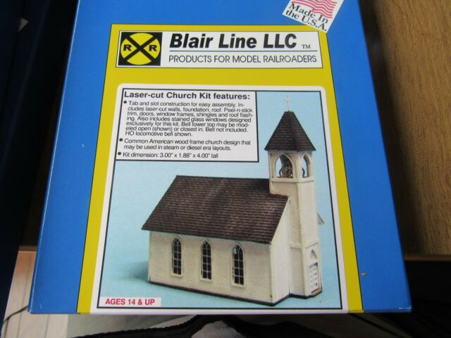 Blair Line NIB N-Scale #1007 FARMERS FERTILIZER Laser Kit