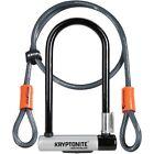 KryptoLok GK001966 Standard U-lock With 4 Foot Kryptoflex Cable