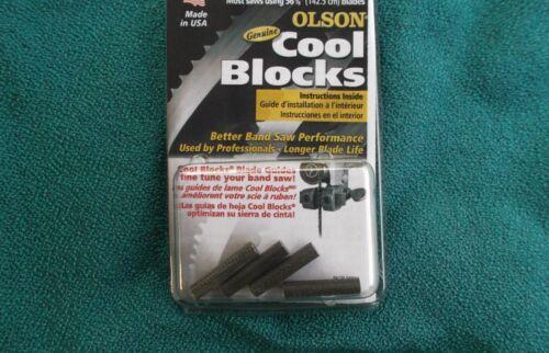 GENUINE OLSON COOL BLOCKS SEARS CRAFTSMAN 137.224320 BAND SAW BLADE GUIDE PINS