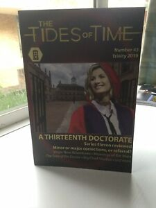 Tides of Time Number 43 April 2019 Doctor Who fanzine magazine A5 New Oxford