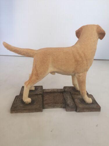 Sherratt /& Simpson YELLOW  LABRADOR Standing On Base Figurine #89065 ~NEW~