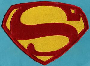 Kirk-Alyn-Superman-Chest-Logo-Patch-Choice-of-Sizes