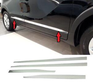 modanature-4-Profili-Acciaio-Cromato-protezione-Porte-Opel-Crossland-X