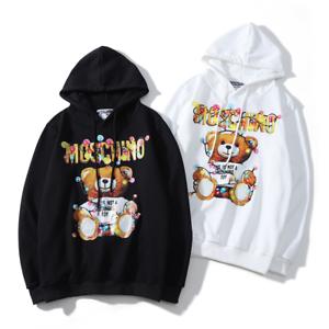 2019-Women-039-s-Men-039-s-Moschino-teddy-bear-Hoodie-Sweater-Sweatshirts-Long-Sleeve