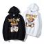 2019-Women-039-s-Men-039-s-Moschino-teddy-bear-Hoodie-Sweater-Sweatshirts-Long-Sleeve thumbnail 1