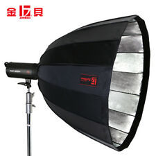 Jinbei 90cm Deep Parabolic Softbox Black/Silver For Jinbei Bowens Studio Flash