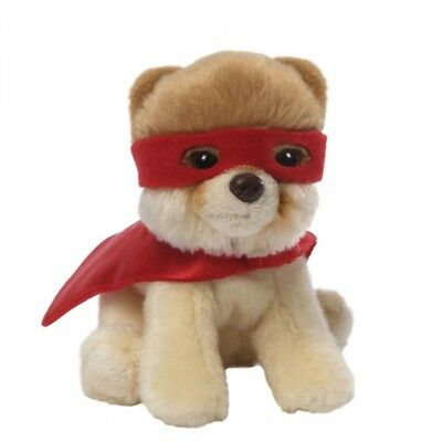 Gund Boo Worlds Cutest Dog 4046473 Itty Bitty Boo Superhero Soft Plush Toy