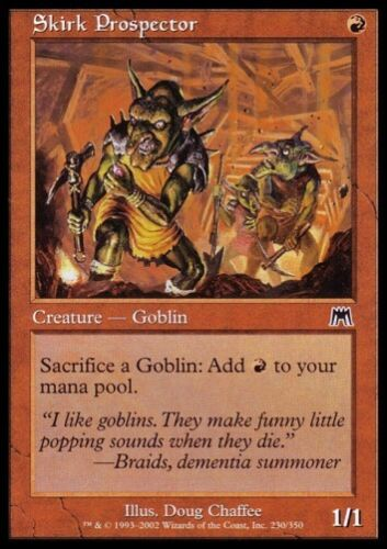 MTG 4x SKIRK PROSPECTOR Onslaught *Goblin DEUTSCH*