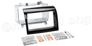 Radio-Blende-CITROEN-Jumper-250-ab-2011-Doppel-2-DIN-DD-Autoradio-Einbau-Rahmen
