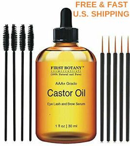 21a6097bc87 Image is loading ORGANIC-Castor-Oil-Hexane-Free-Eyelash-Hair-Eyebrows-