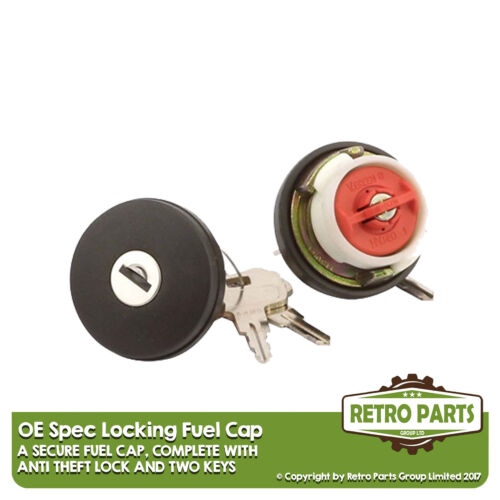 Locking Fuel Cap For Aixam Crossline 07//2007-07//2012 OE Fit