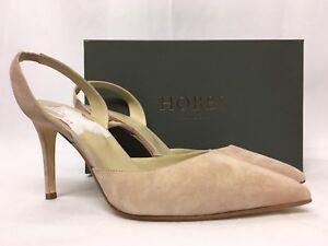 c01c9fd043f4 Hobbs Nina Fine Suede Blush Slingback Heels. Various Sizes. RRP £139 ...