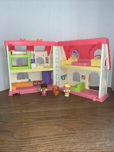 Fisher Price Little People Surprise And Sounds Foldable House In Great Shape!