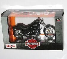 Maisto - Harley Davidson 2008 FXSTB NIGHT TRAIN Model Scale 1:18