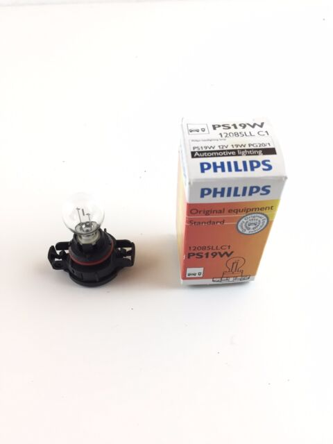 Philips Ps19w Longue Vie Lampe Ampoule de 12085llc1 12 Volts 19 Watt Pg20/1