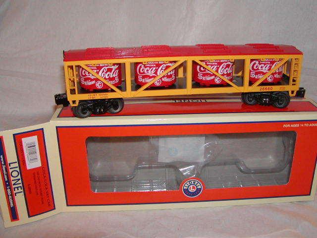 Lionel 6-26660 coca - cola - auto o 027 mib 2011 koks neue