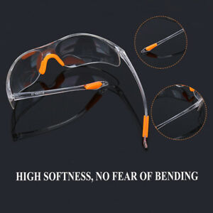 Eye-Protective-Glasses-Lab-Outdoor-Work-Anti-impact-Clear-Factory-Goggles-Safety