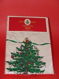 Spode Christmas Tree  Tablecloth 60 X 144