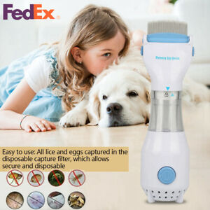 Electric-Anti-Lice-Comb-Pet-Head-Flea-Removal-Killer-Brush-Safe-Treatment-Tool