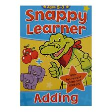 SNAPPY LEARNER ADDING BOOK & REWARD CHART ADDITION EDUCATIONAL SCHOOL FOR 5-7