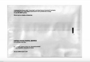 usps 10 x 7 shipping label pouches invoice slip