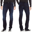 Nudie-Hombre-Ajustado-Pantalones-Vaqueros-Delgado-Finn-Azul-NegroMercancia-B miniatura 9