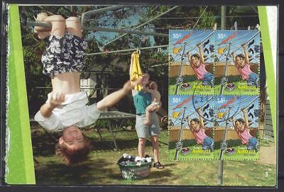 Australien Australien 2009 Erfinderisches Set 5 Heftchen Fensterbereiche Fein Gebraucht Elegant Im Geruch