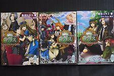 JAPAN novel: Clover no Kuni no Alice Wonderful Wonder World 1~3 Set Quin Rose