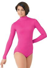 NEW Balera Long Sleeve L/S Mock T-Neck & Turtleneck Dance Cheer Leotard Child