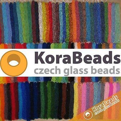 KoraBeads Czech Glass Beads
