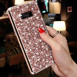 Luxury Bling Glitter Diamond For Samsung Galaxy S8 S9 Plus Note 9 8 Case Cover