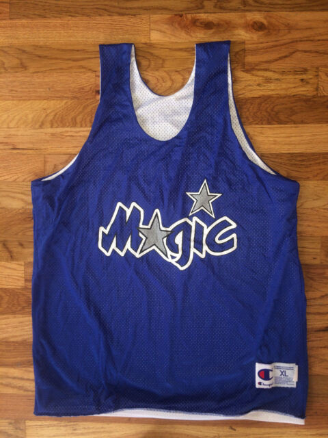 a3d064504e5 ORLANDO MAGIC Vtg 90s CHAMPION Reversible Practice uniform Jersey Penny Shaq  XL