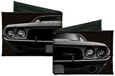 Dodge Challenger Car Front End Canvas Bi-Fold Wallet Licensed