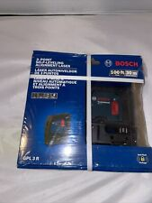 Factory Seal Bosch 100 3 Point Self Leveling Alignment Laser Gpl 3 R