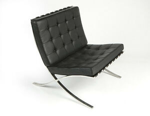 Knoll-Barcelona-Chair-by-Ludwig-Mies-van-der-Rohe-original-circa-1960s-Black