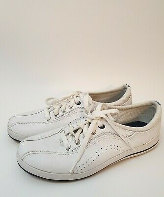 Keds Women's White Leather Lace Up