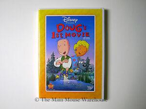 Jim-Jinkins-Doug-039-s-1st-First-Movie-Disney-Channel-Doug-Cartoon-Movie-on-DVD