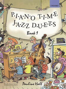 Piano-Time-Jazz-Duets-Book-1-Oxford-Piano-Method-SHEET-MUSIC-BOOK-Pauline-Hall