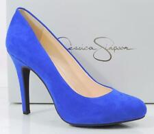 Women's Shoes Jessica Simpson MALIA High Heels Pumps Blue Micro Suede Size 6