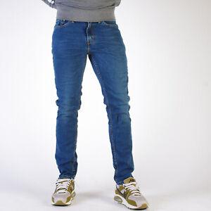Levi-039-s-511-Slim-fit-Throttle-Herren-Blau-Jeans-29-34-W29-L34