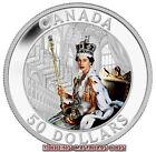 CANADA $50 - 5oz. FINE SILVER COIN - 60th ANNIVERSARY QUEEN'S CORONATION - 2013