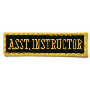 150c0e9fc4 Image is loading Assistant-Instructor-Martial-Arts-Patch-4-034-P1172