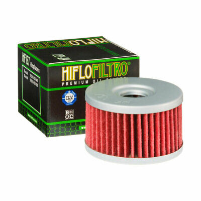 2 Pack Hiflofiltro HF137-2 2 Pack Premium Oil Filter