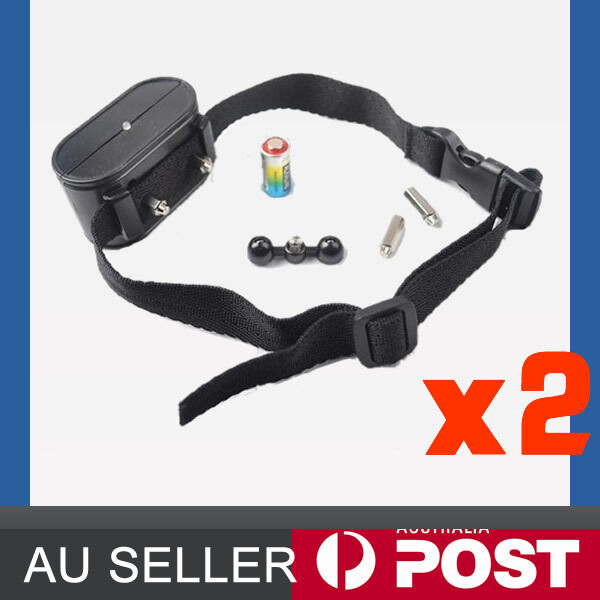 2X Collar for Hidden Underground Electric Pet Dog Fence Fencing System HT 023