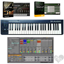 M-Audio Keystation 49 II - USB MIDI Software Keyboard Controller Bundle