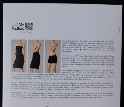 Wolford MediumVK Fatale 12nieuw jurk 50706donkere orchideemaat in doos 9009752356787 14USA XkuTwZlOPi