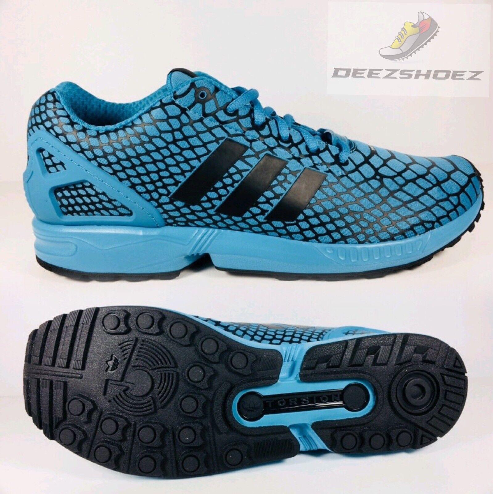 Adidas Mens ZX Flux Techfit Sky Blue Mens Adidas S79066 US Size 11.5 e09b1f