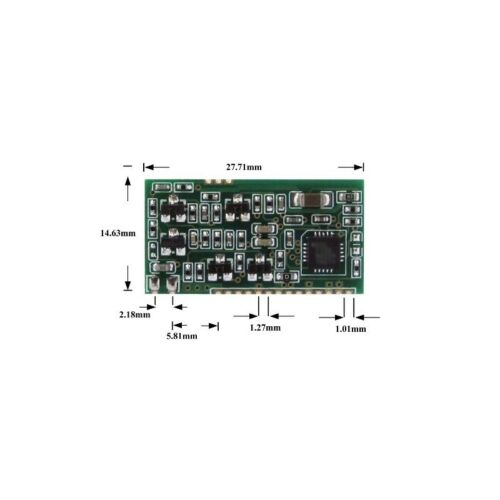 ISO 11784//11785 134.2K Reader Module Animal Labels FDX-B Embedded UART Module