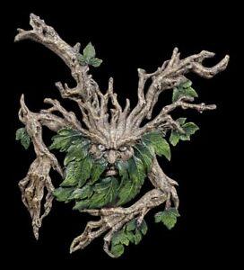 Wylde-Jack-Greenman-Wall-Relief-Mysticism-Figure-Statue-Tree-Spirit